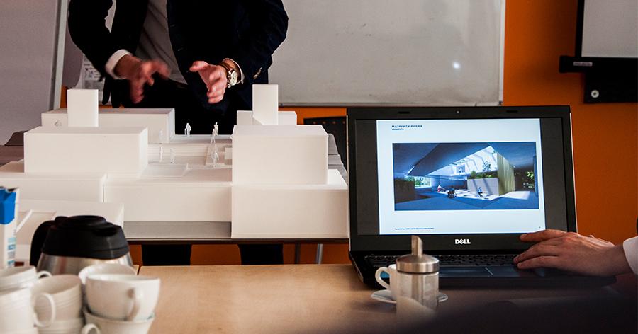 Prezentace modelu architektonického návrhu