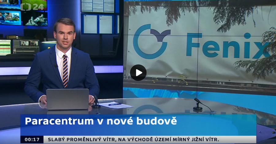 Reportáž ČT o novém centru Fenix